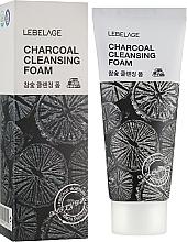 Perfumería y cosmética Espuma facial con carbón activo - Lebelage Charcoal Cleansing Foam