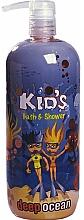 Perfumería y cosmética Gel de ducha infantil - Hegron Kid's Deep Ocean Bath & Shower