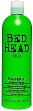 Perfumería y cosmética Champú fortalecedor con mica, aceite de ricino y queratina hidrolizada - Tigi Bed Head Elasticate Strengthening Shampoo