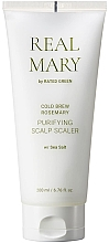 Perfumería y cosmética Exfoliante hidratante de cuero cabelludo con agua de romero - Rated Green Real Mary Cold Brew Purifying Scalp Scaler