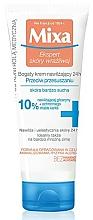 Perfumería y cosmética Crema facial hipoalergénica hidratante con glicerina y manteca de karité - Mixa Sensitive Skin Expert Anti-Dryness Cream