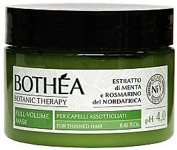 Perfumería y cosmética Mascarilla capilar con extracto de menta y romero - Bothea Botanic Therapy Full-Volume Mask pH 4.0