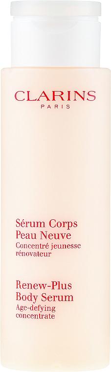 Sérum corporal con extracto de hibisco y nenúfar blanco - Clarins Renew-Plus Body Serum — imagen N2