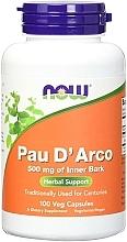 Perfumería y cosmética Complemento alimenticio en cápsulas de Pau d'arco, 500 mg - Now Foods Pau D'Arco