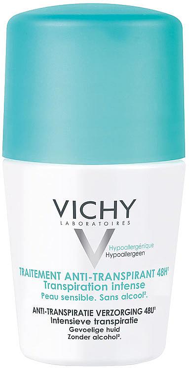 Desodorante antitransirante roll-on 48 horas de protección - Vichy Deo Intense Transpiration Roller 48H
