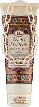 Perfumería y cosmética Tesori d`Oriente Byzantium Shower Cream - Crema-gel de ducha con aroma a rosa negra y ládano