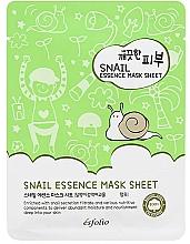 Perfumería y cosmética Mascarilla facial de tejido con baba de caracol - Esfolio Pure Skin Snail Essence Mask Sheet