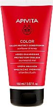 Perfumería y cosmética Acondicionador protector del color para cabello teñido con miel & girasol - Apivita Color Protect Conditioner With Sunflower & Honey