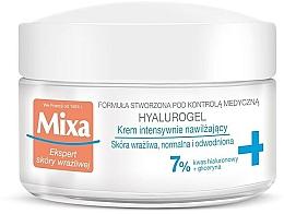 Perfumería y cosmética Crema facial hidratante con ácido hialurónico - Mixa Sensitive Skin Expert Hyalurogel