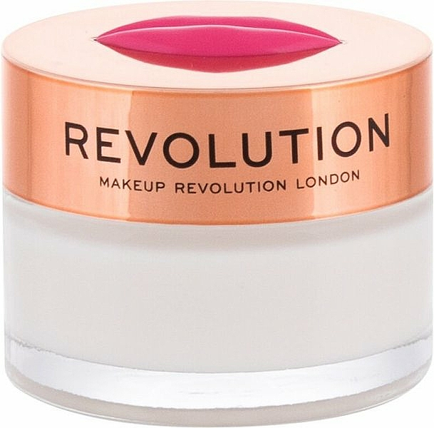 Bálsamo mascarilla labial de noche con sabor a coco - Makeup Revolution Kiss Lip Balm Cravin Coconuts