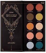 Perfumería y cosmética Paleta de sombra de ojos - Zoeva Aristo Eyeshadow Palette