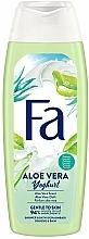 Perfumería y cosmética Gel de ducha con proteínas de yogurt y aroma a aloe vera - Fa