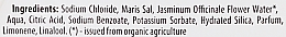 Sales de baño con jazmín orgánico & sal marina - Organic Shop Baths Salt Organic Jasmine & Salt — imagen N3