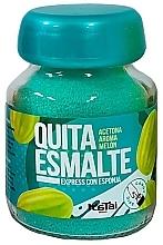 Perfumería y cosmética Quitaesmalte de uñas con esponja, aroma a melón - Katai Nails Express Nail Polish Remover Melon