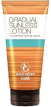 Perfumería y cosmética Loción corporal bronceadora - Australian Gold Gradual Sunless Lotion