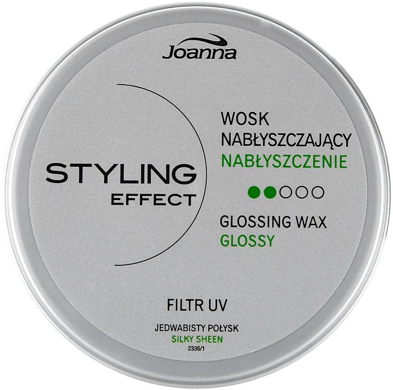 Cera para cabello con efecto brillo - Joanna Styling Effect Glossing Wax