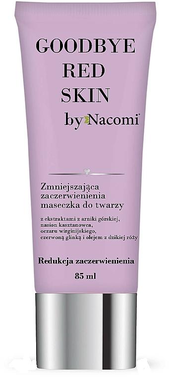 Mascarilla facial con arcilla roja y aceite de rosa mosqueta - Nacomi Goodbye Red Skin Mask