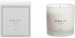 Perfumería y cosmética Vela perfumada - Culti Milano Candle Bianco Velvet