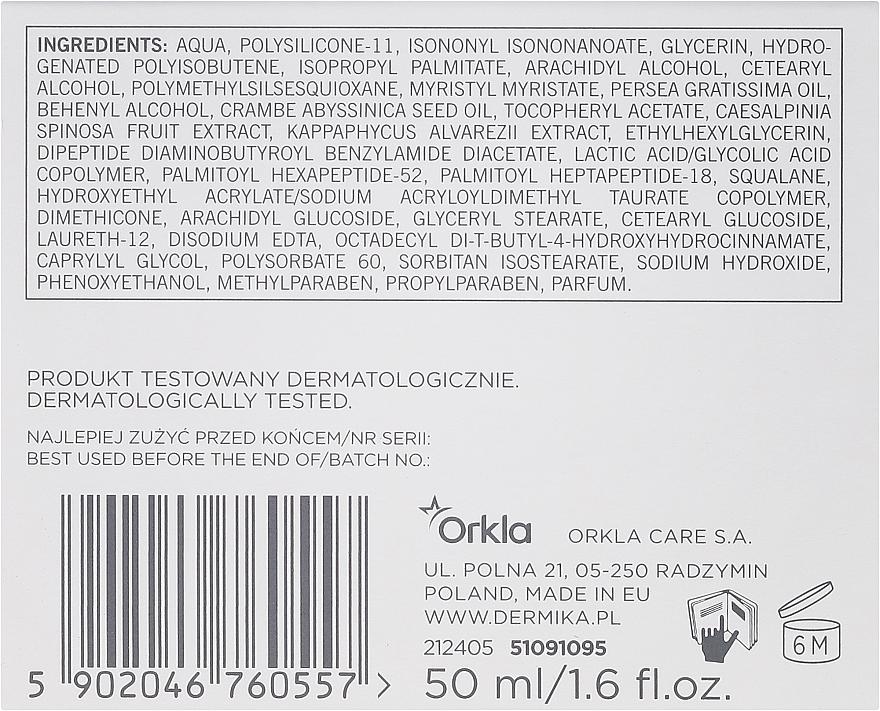 Crema facial con glicerina y aceite de abisinio - Dermika In-Tense Face Cream — imagen N3