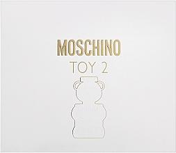 Perfumería y cosmética Moschino Toy 2 - Set (eau de parfum/50ml + loción corporal/50ml + gel de ducha/50ml)