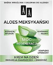 Perfumería y cosmética Crema facial antiarrugas con aloe vera mejicano y ceramidas 50+ - AA Moc Energy Cream 50+