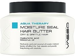 Perfumería y cosmética Mascarilla capilar con ácido hialurónico y aceite de coco - Vasso Professional Moisture Seal Hair Butter