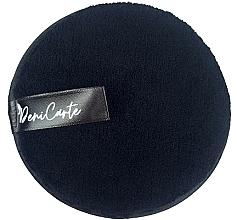 Perfumería y cosmética Disco de limpieza facial de microfibra, negro - Deni Carte Face Wash Microfiber Black