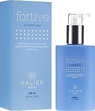 Perfumería y cosmética Acondicionador con aceite de almendras dulces y queratina hidrolizada - Halier Men Fortive Conditioner