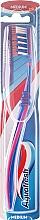 Perfumería y cosmética Cepillo dental medio, rosa-azul - Aquafresh Clean Deep Medium