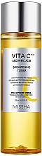 Perfumería y cosmética Tónico facial hidratante con vitamina C - Missha Vita C Plus Brightening Toner
