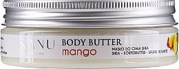 Perfumería y cosmética Manteca corporal con karité orgánico, aroma a mango - Kanu Nature Mango Body Butter