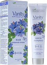 Perfumería y cosmética Crema depilatoria para pieles sensibles con aceite de hibiscos, cuerpo y bikini - Bielenda Vanity Soft Touch Hibiscus