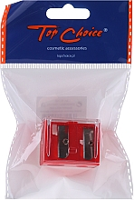 Perfumería y cosmética Sacapuntas doble, 2182, rojo - Top Choice