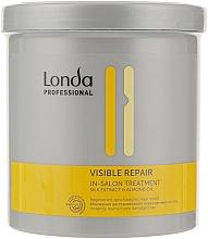 Perfumería y cosmética Mascarilla capilar reparadora con extracto de seda y aceite de almendras - Londa Professional Visible Treatment