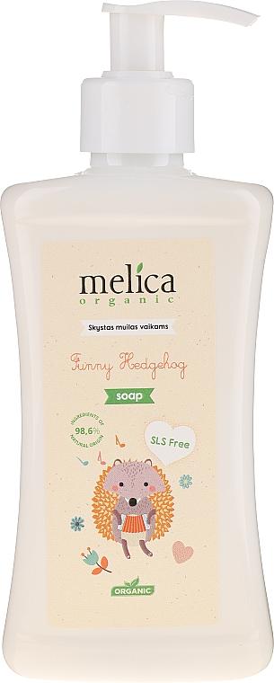 Jabón líquido natural con extracto de avena - Melica Organic Funny Hedgehog Liquid Soap