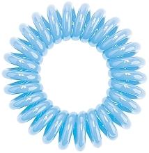 Perfumería y cosmética Coletero espiral, azul - HH Simonsen Hair Cuddles Light Blue