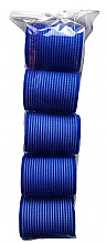 Perfumería y cosmética Rulos de velcro, 498788, 48mm, azul, 5uds. - Inter-Vion