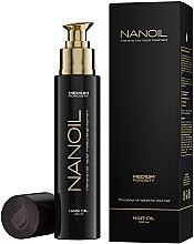 Perfumería y cosmética Tratamiento capilar reparador intensivo con aceite de coco - Nanoil Hair Oil Medium Porosity