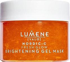 Perfumería y cosmética Mascarilla facial iluminadora en gel con caléndula y vinagre de moras silvestres - Lumene Valo Nordic-C Fresh Glow Brightening Gel Mask