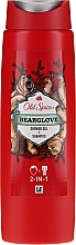 Perfumería y cosmética Champú y gel de ducha 2en1 - Old Spice Bearglove Shower Gel + Shampoo