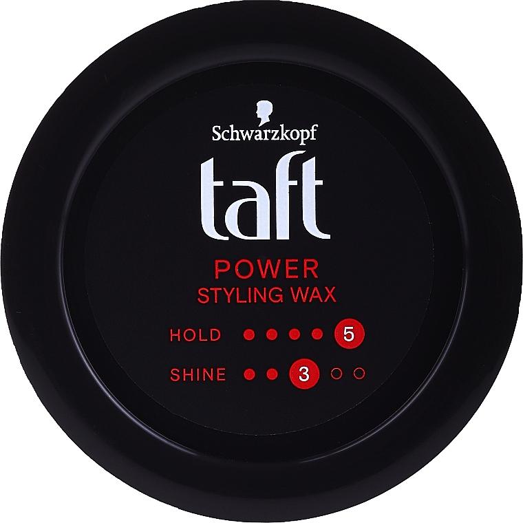 Cera modeladora para cabello - Schwarzkopf Taft Power Wax