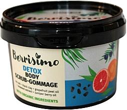 Perfumería y cosmética Exfoliante corporal detoxificante de sal marina y arcilla negra - Berrisimo Detox Body Scrub-Gommage