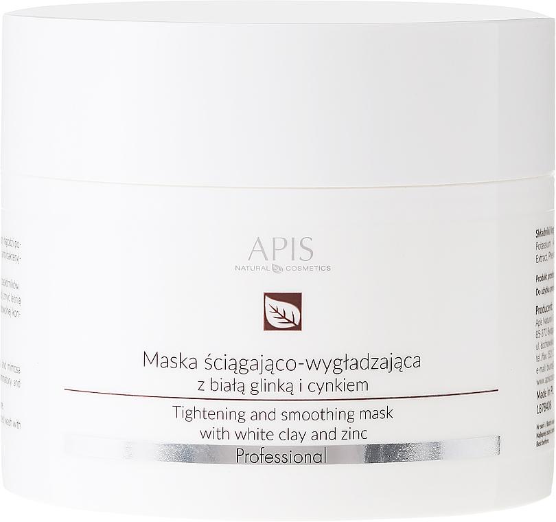 Mascarilla facial reafirmante con arcilla blanca y zinc - APIS Professional Tightening And Smoothing Mask
