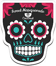 Perfumería y cosmética Mascarilla facial de tejido con extracto de coco y proteínas de leche - Dr Mola Sweet Masquerade Coconut Mask