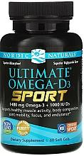 Perfumería y cosmética Complemento alimenticio en cápsulas de Omega D3 sport, 1480 mg - Nordic Naturals Ultimate Omega-D3 Sport