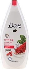 Perfumería y cosmética Gel de ducha hidratante con aroma a granada e hibisco - Dove Go Fresh Reviving Shower Gel