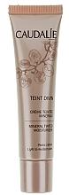 Perfumería y cosmética Crema hidratante facial con color para pieles claras con escualeno de aceite de oliva - Caudalie Teint Divin Mineral Tinted Moisturizer