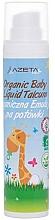 Perfumería y cosmética Talco líquido orgánico para bebés, sin parafinas, parabenos ni talco en polvo - Azeta Bio Organic Baby Liquid Emulsion