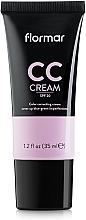 Perfumería y cosmética CC crema antifatiga - Flormar CC Cream Anti-Dark Circles