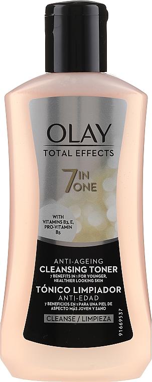 Tónico limpiador con vitaminas B3 & E 7 en 1 - Olay Total Effects 7 In One Age-defying Toner — imagen N1
